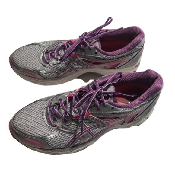 washing asics running shoes